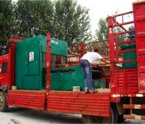 我公司泡沫混凝土设备|水泥发泡保温板设备运往国外