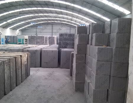 发泡水泥板生产厂区